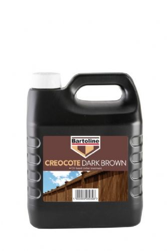 Bartoline Creocote Timber Treatment - 4L Dark Brown